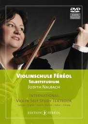 Violinschule Féréol Selbststudium Textheft + Lehrvideos auf DVD