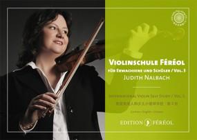 Violinschule Féréol Vol. 3 Für Erwachsene und Schüler + Play-along CD