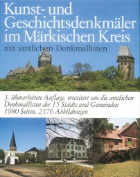 Kunst- und Geschichtsdenkmäler im Märkischen Kreis (antiquarisch - nur über den Verlag)