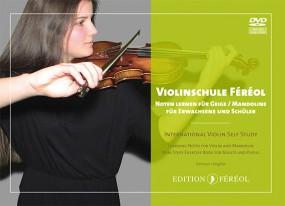 Violinschule Féréol Noten lernen